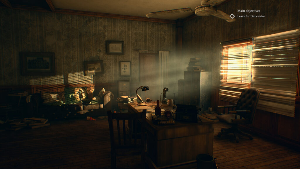 Call of Cthulhu 2018 private investigator kamer