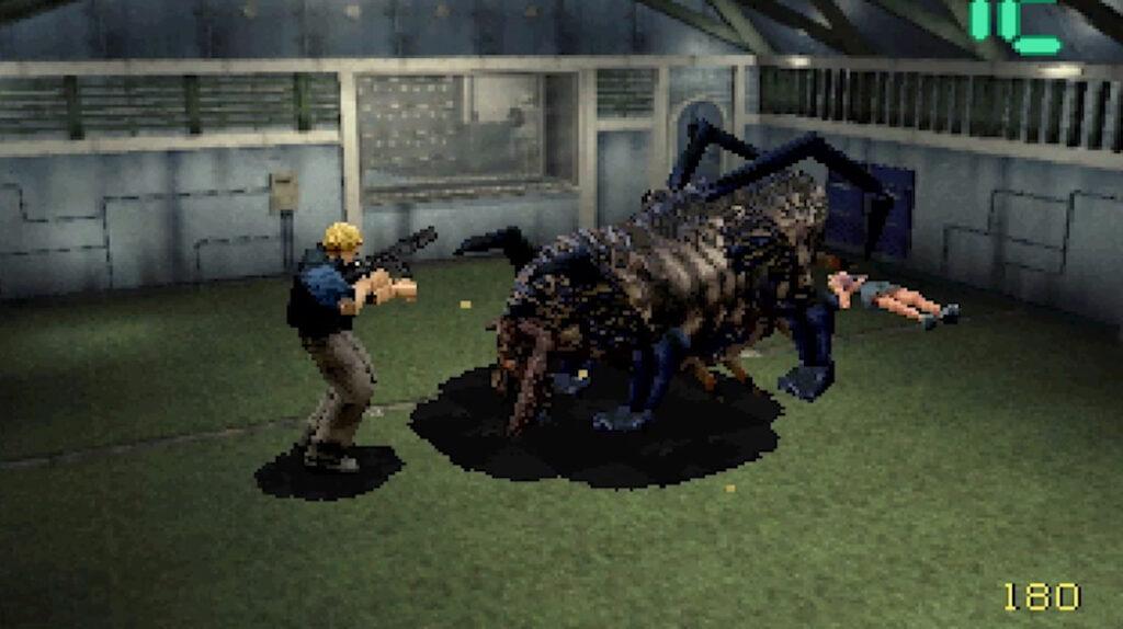soorten horror games Deep Fear screenshot
