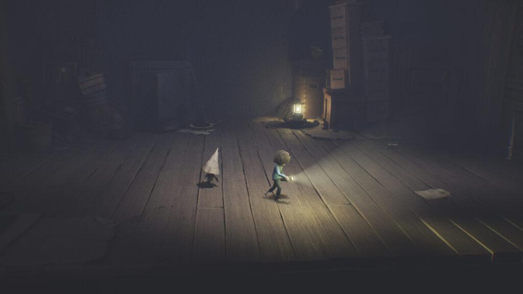 The Runaway Kid met een Nome