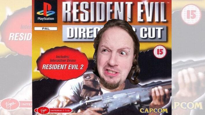 retrogamepapa resident evil dir cut hoofd