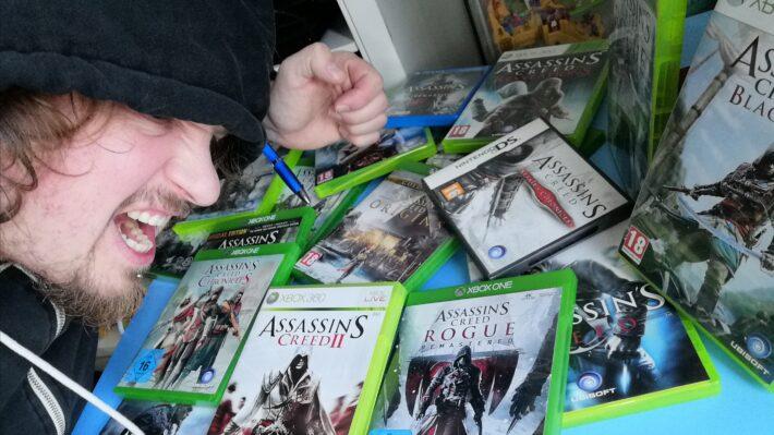 assassin's creed retrogamepapa assassin op de games
