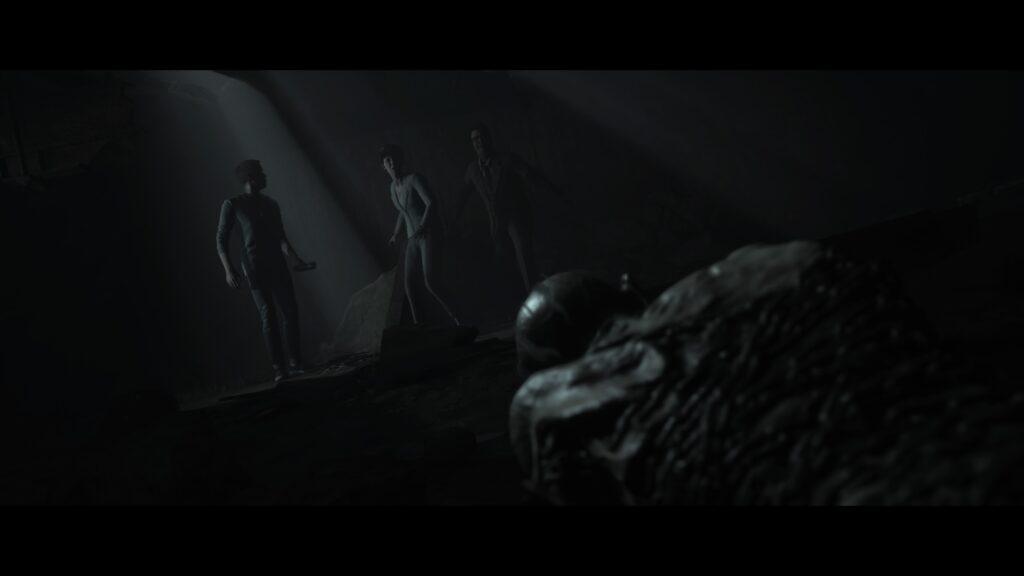 monster achter je aan in Dark Pictures Anthology vol 2