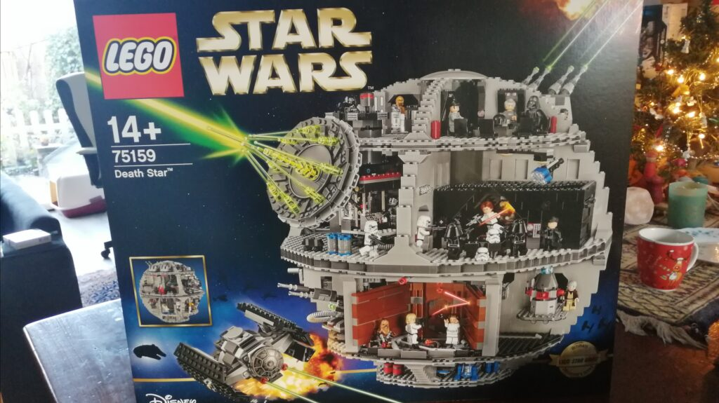 quarantaine games death star lego doos