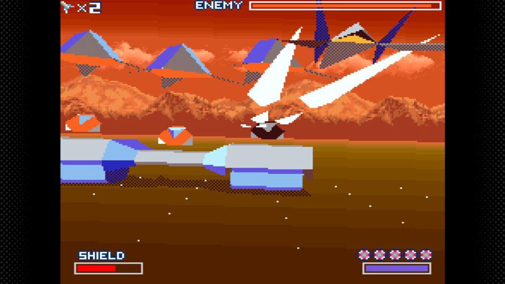 bossfight course 3 starwing screenshot retrogamepapa