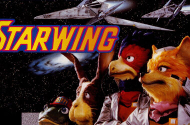 star fox starwing cover met fox mccloud en team retrogamepapa