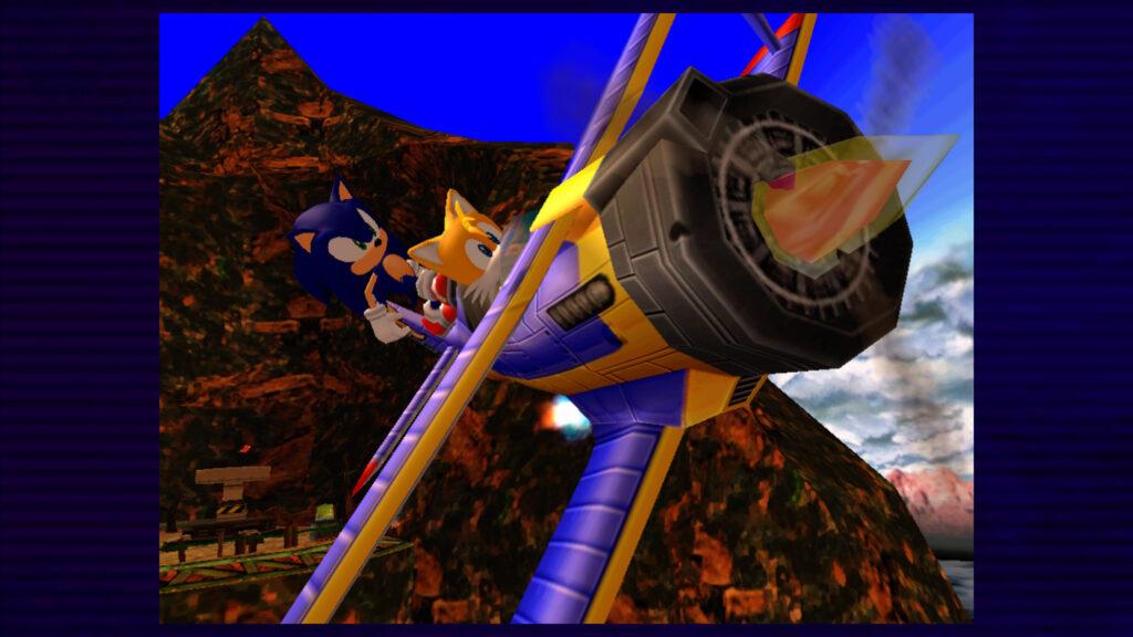 sonic en tails vliegen screenshot retrogamepapa