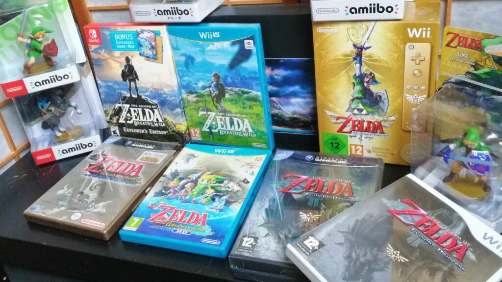 zelda 35 jaar collectie zelda games en amiibo