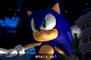 sonic adventuresonic zelf screenshot retrogamepapa