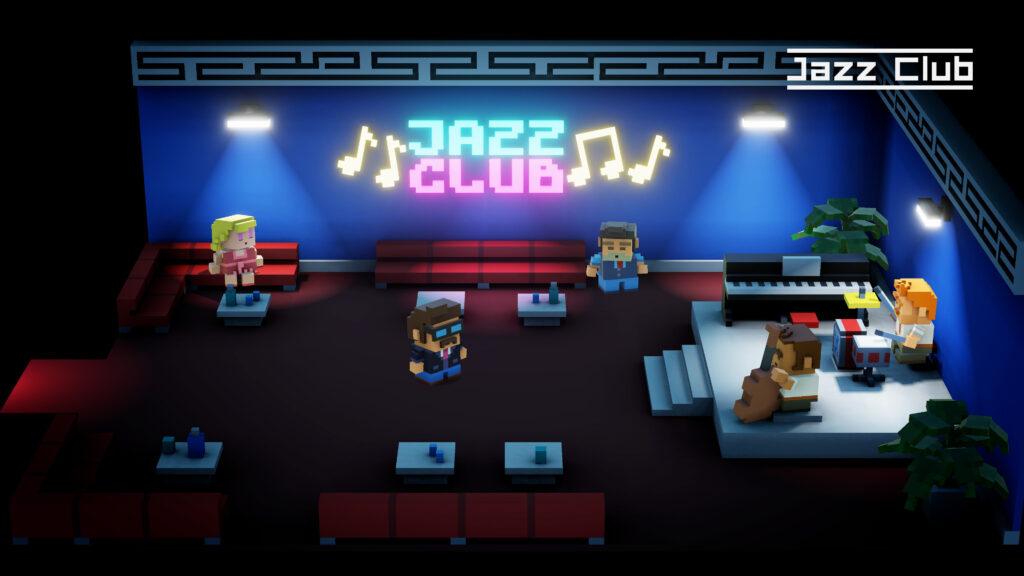 jazz club met chuck snorris retrogamepapa