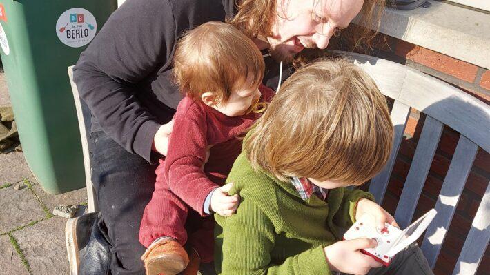 kinderen en games kids van retrogamepapa