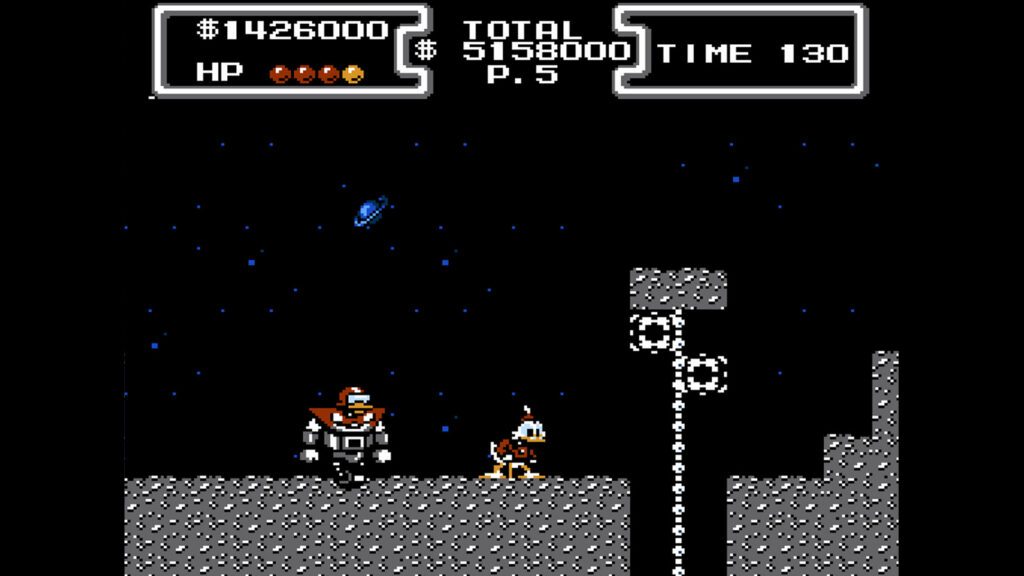 the moon dagobert duck retrogamepapa