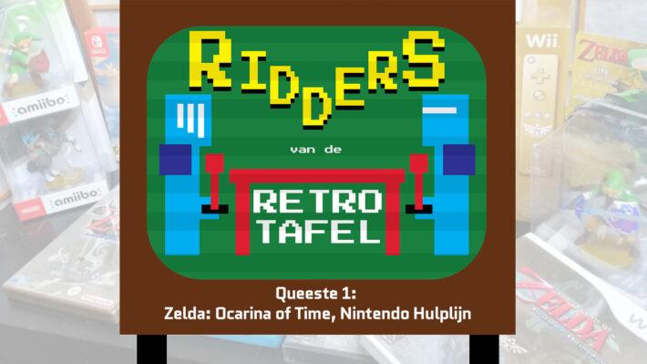 ridders van de retro tafel podcast retrogamepapa