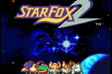 startscherm star fox 2