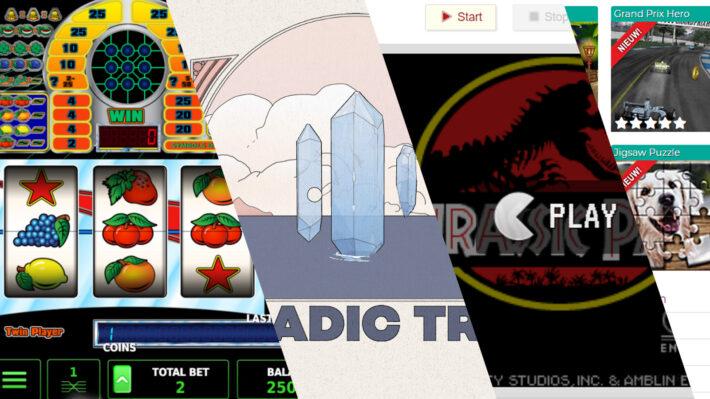 main pic compilatie interactieve websites retrogamepapa