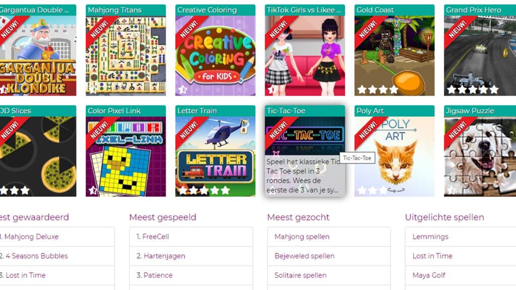 spellensite screenshot games retrogamepapa