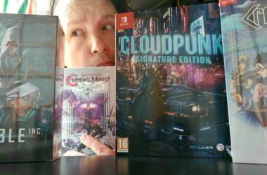 limited run games verschillende uitgevers Bloodstained Curse of the Moon en Cloudpunk retrogamepapa