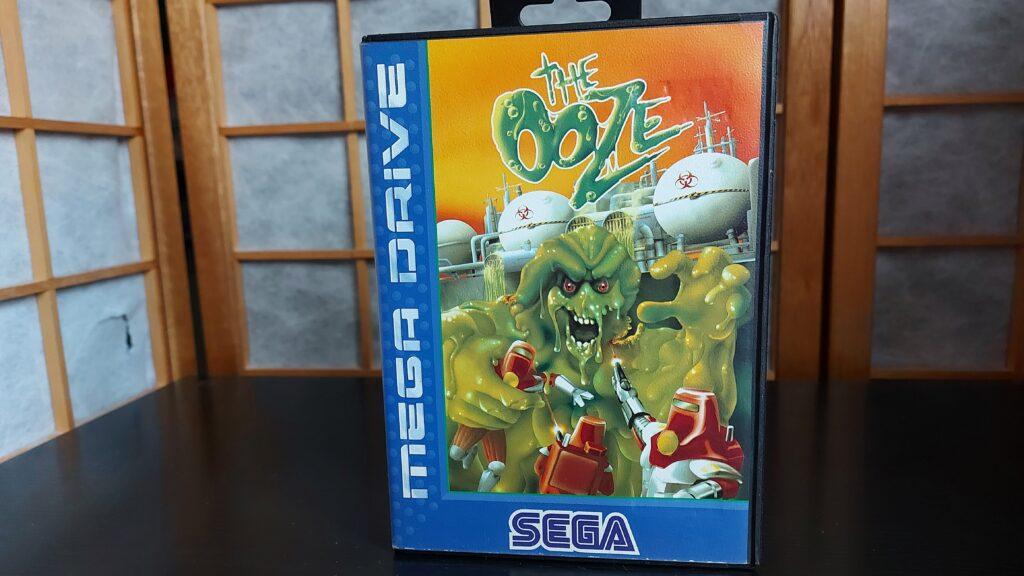 The Ooze game Mega Drive retrogamepapa
