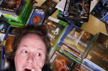 retrogamepapa horror games halloween